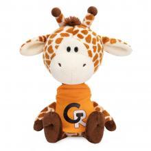 Giraf Jean met oranje shirt