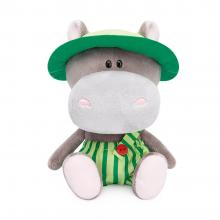 Nijlpaard Bapoto met panama hoed.