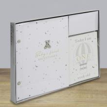 Fotoboek met milestone cards