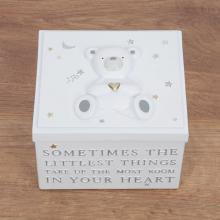 Bewaarbox klein wit