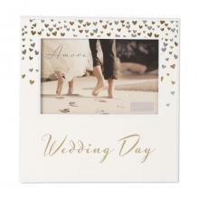 Fotolijst wedding day harts