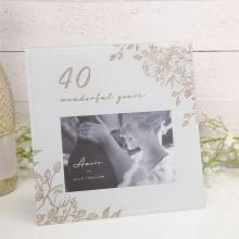 Fotolijst 40 jaar getrouwd
