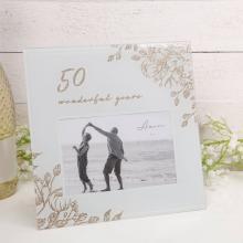 Fotolijst 50 jaar getrouwd