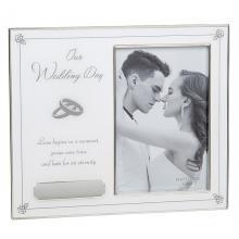 Fotolijst wedding graveren