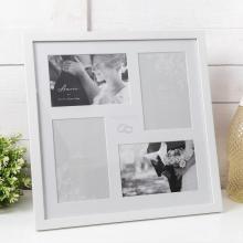 Fotolijst white wedding collage