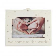 Fotolijst welcome to the world.