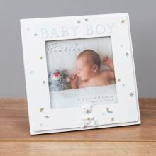 Fotolijst baby boy white