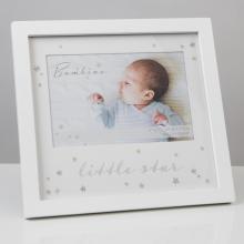Fotolijst little star wit