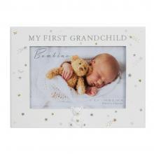 Fotolijst my first grandchild white