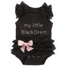 Little black dress romper