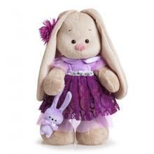 Zaika Mi het lieve konijn in paars jurkje